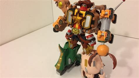 Robot Story Koboi Woody story woody megazord disney pixar bandai chogokin robo sheriff