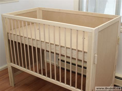 3 In 1 Baby Crib Plans How To Make A Crib Don Heisz Ibuildit Ca