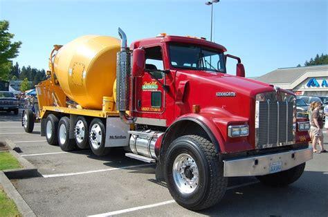 kenworth concrete truck kenworth cement mixer trucks heavyhauling kenworth