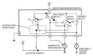 mazda protege wiper washer system wiring diagram 2002 circuit wiring diagrams