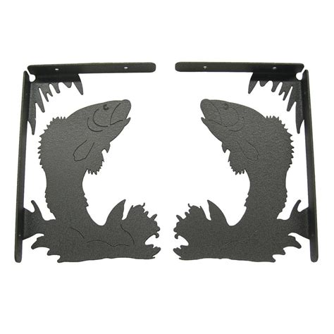 fish shelf brackets