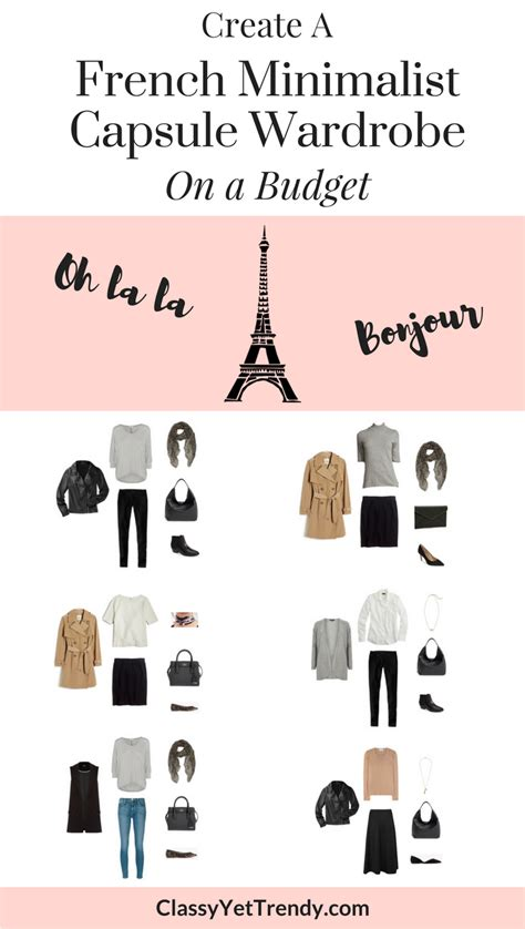 7 Tips For Creating A Capsule Wardrobe by Create A Minimalist Capsule Wardrobe On A Budget