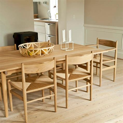 shaker dining room furniture hans wegner shaker dining chair ch36 modern furniture palette