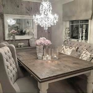 Rustic Dining Room Tables And Chairs by Best 25 Shabby Chic Dining Room Ideas On Pinterest