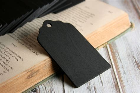 chalk paint gift set scallop chalkboard tags set of 25