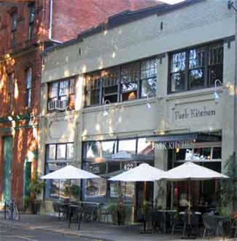 Park Kitchen Portland by Review Park Kitchen Restaurant Of The Year 2006