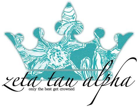 zeta tau alpha colors crown clipart zta pencil and in color crown clipart zta