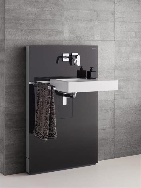 flache vorwandinstallation fuer wc bidet und waschtisch