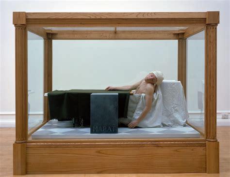 French Revolution Painting Bathtub Gavin Turk Death Of Marat