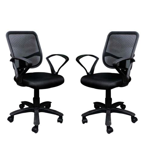 Free Office Furniture by Compare Buy 1 Office Chair Get 1 Free In Black Price