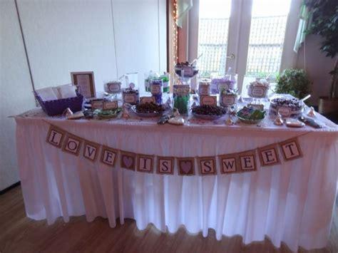 Our Purple Candy Buffet Weddingbee Photo Gallery Purple Wedding Buffet