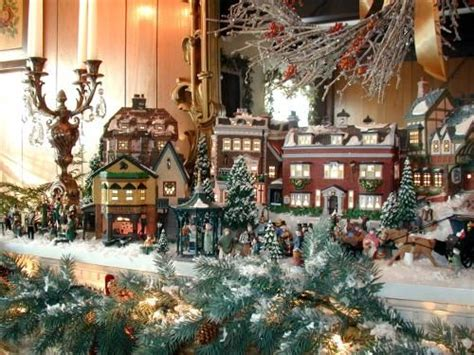dept 56 village display ideas images