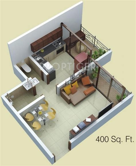 400 sq ft 400 sq ft 1 bhk 1t apartment for sale in siddhitech homes siddhi city badlapur east mumbai