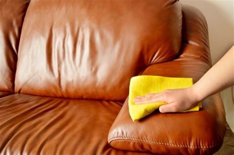 Clean Leather Sofas Leather Care How To Clean Leather Sofa Cleanipedia