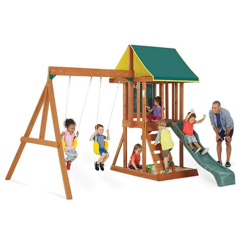 cheap swing and slide set 1000 ideas about cheap swing sets on pinterest kids