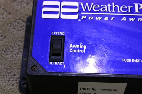 weather pro awning parts rv accessories used rv parts weather pro power awning with