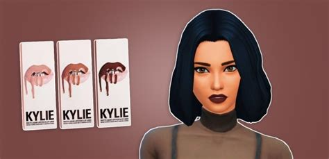 kylie sims 4 lip kit lip kit by kylie at primadonna sims 187 sims 4 updates