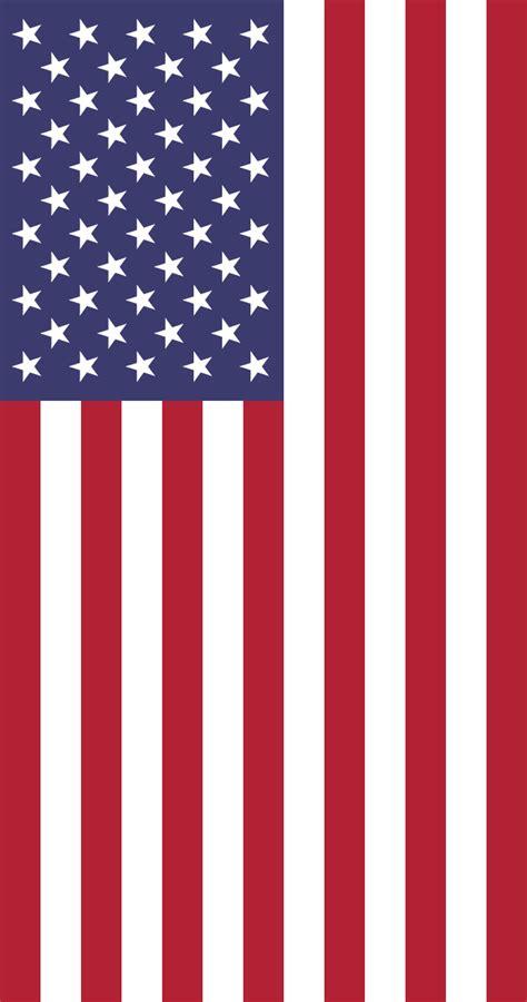 usa flag colors file vertical united states flag svg