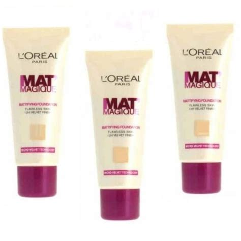 L Oreal Mat Magique l oreal l oreal mat magique mattifying foundation l oreal from high brands 4 less uk