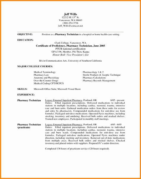 pharmacist resume cover letter 7 retail pharmacist resume sle free sles