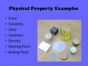 is color a chemical property physical chemical properties