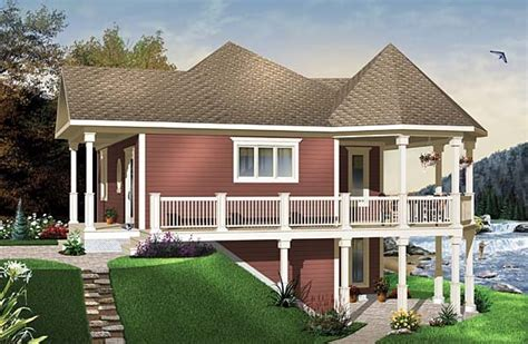 One Story Walkout Basement House Plans by 53 Two Story House Plans With Walkout Basement Ranch