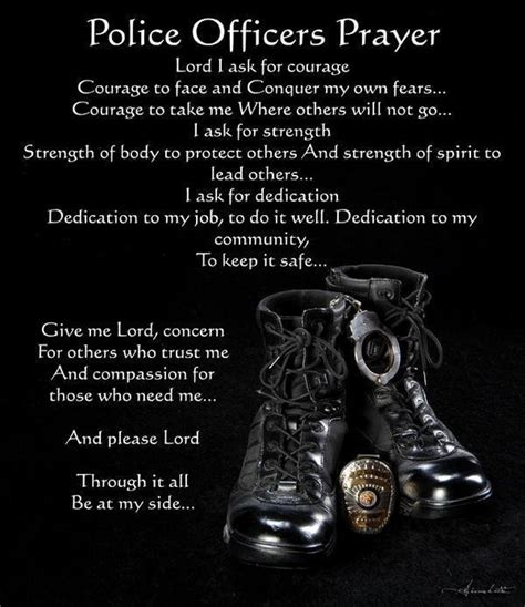 Prayers For Officers by Officers Prayer United States Of America Fan