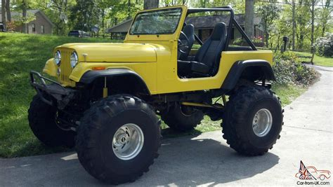 chevy jeep 1989 jeep wrangler 1969 cj rock crawler 350 chevy crate