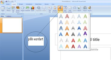 membuat teks prosedur dan strukturnya membuat teks keren menggunakan microsoft powerpoint 2007