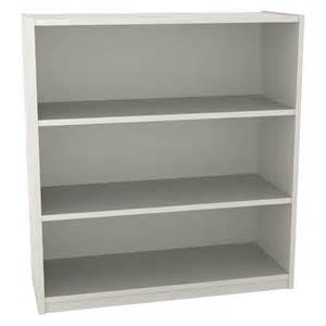 ameriwood 3 shelf bookcase white stipple at hayneedle