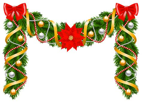 xmas swag png deco garland png clipart image gallery yopriceville high quality images and
