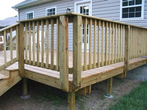 Best Gate For Top Of Stairs With Banister 32 Diy Deck Railing Ideas Amp Designs That Are Sure To