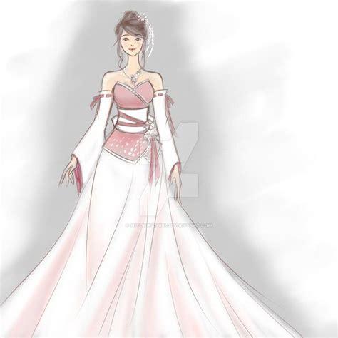 Yuna Top Purple Veyl kimono wedding dress by hitokirichibi deviantart on