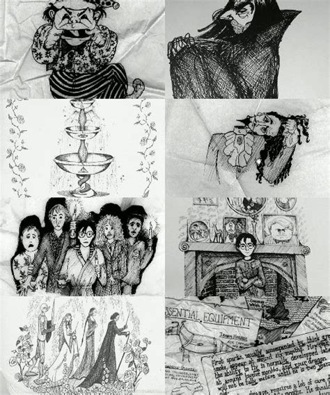 J K Rowling Sketches by 1000 Images About Escapes On Hogwarts The