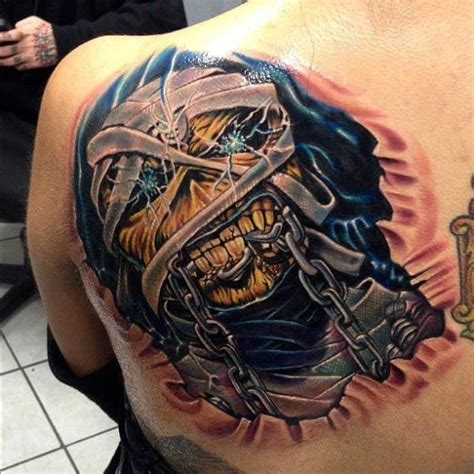 eddie tattoo 19 killer eddie tattoos for iron maiden fans tattoodo