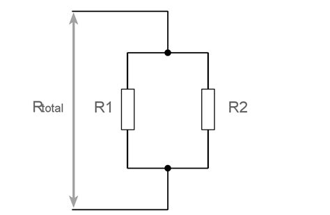 two resistors in parallel calculator parallel resistors calculator electronics notes