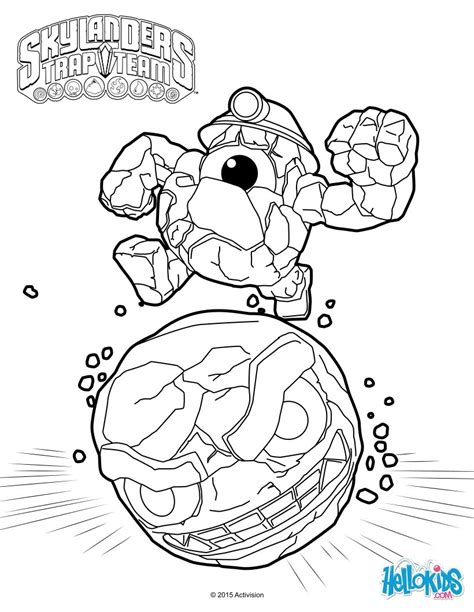 krypt king coloring pages rocky roll coloring pages hellokids com