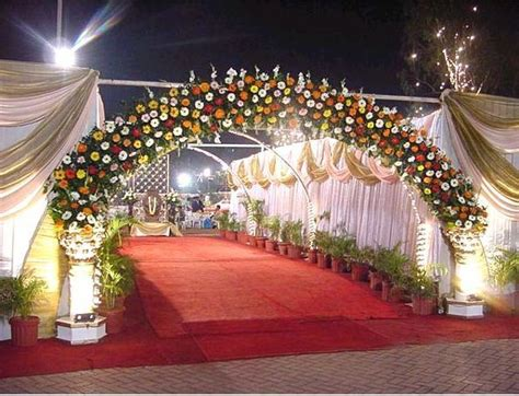 beautiful wedding ceremony decorations wedding entrance