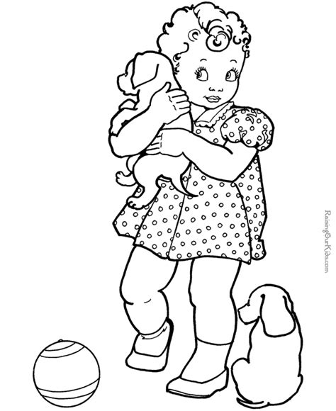 Free Coloring Pages Of Dogs Coloring Pages For Free