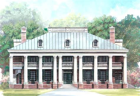 greek revival plantation house plans house plan 72149 at familyhomeplans com
