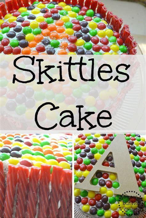 Skittles Decorations by Best 25 Skittles Cake Ideas On Gravity Cake