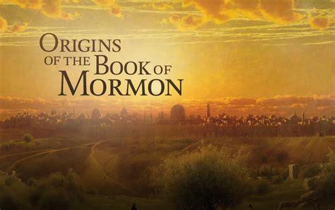 Book Of Origins the bible the book of mormon mormon christian