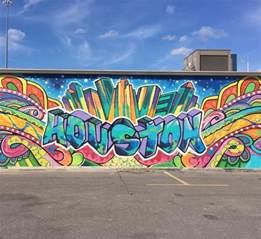 downtown houston mural wall graffiti my houston wallpaper xxl non woven huge photo wall mural art print