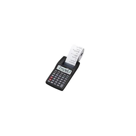 casio calcolatrici casio calcolatrice da tavolo rotolo carta hr 8tec