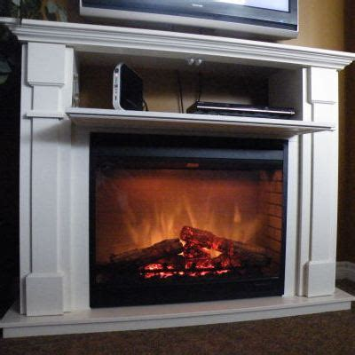 For a TV friendly Fireplace, Go Electric   Stylish Fireplaces