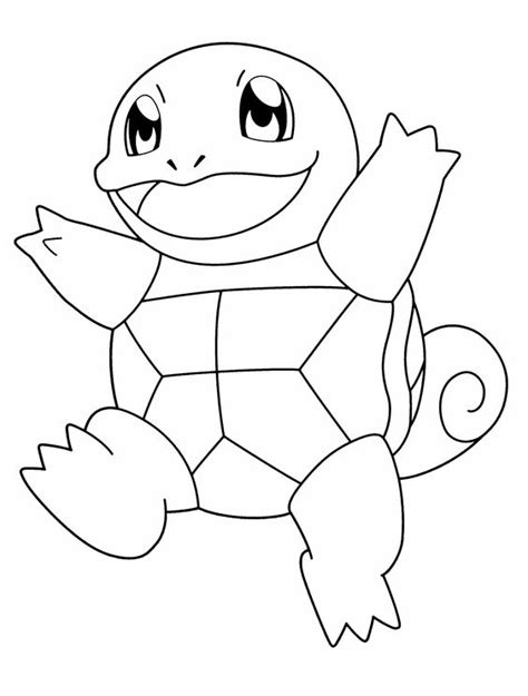 turtle pokemon coloring page pokemon turtle is being stepped up coloring page