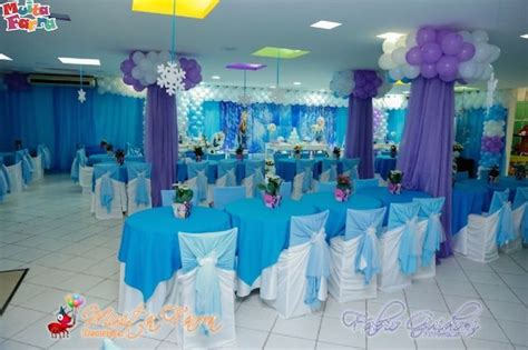 frozen themed party venue frozen themed birthday party with lots of cute ideas via