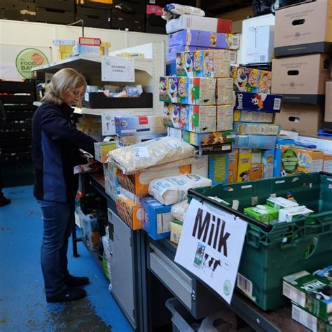 Milton Food Pantry entropie make a special delivery to the milton keynes food bank entropie