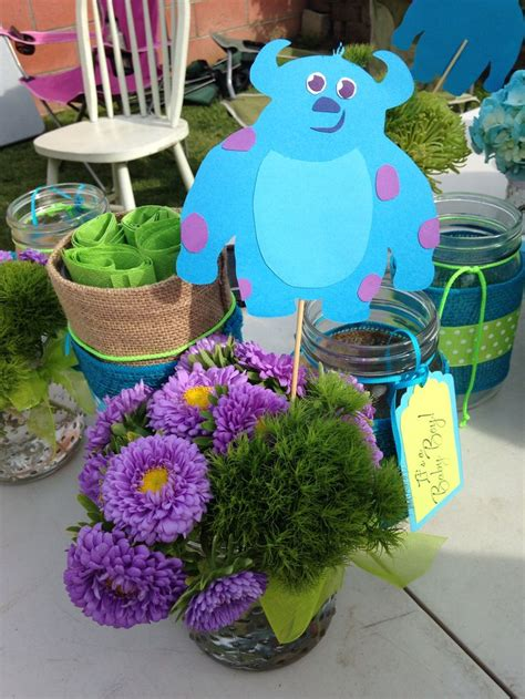 monsters inc baby shower centerpieces monsters inc baby shower centerpieces flowers