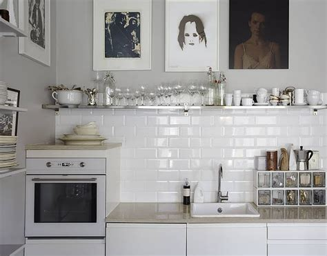 white tile kitchen how to make a white kitchen more interesting decorator s